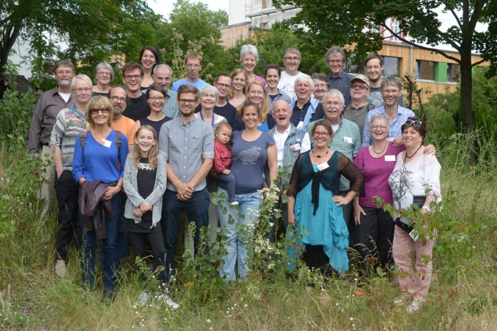 Einige Mitglieder im Projekt BetrTrift Niederrad